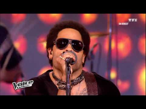Al.Hy & Lenny Kravitz - Are You Gonna Go My Way | The Voice France 2012 | Finale