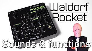 WALDORF ROCKET: Sound and Functions - [direct high quality sound] [Full HD]