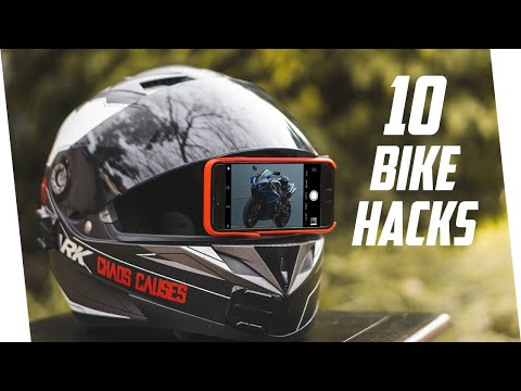 10 Motorcycle Life Hacks