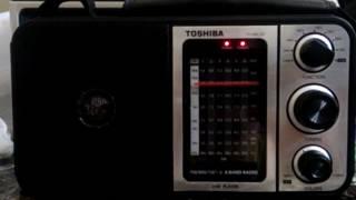 Radio exterior de Espana by Toshiba TY-HRU30