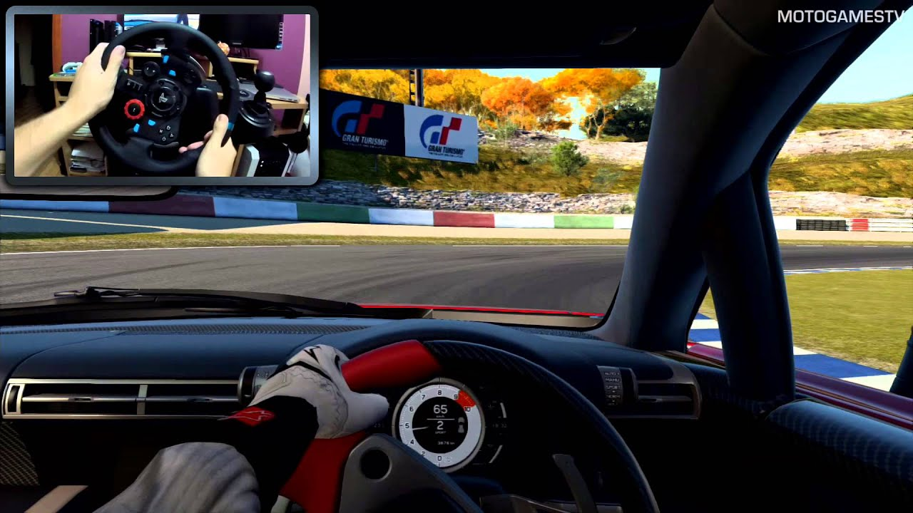 12b7ece71ee Gran Turismo 6 with Logitech G29 [WheelCam] - YouTube