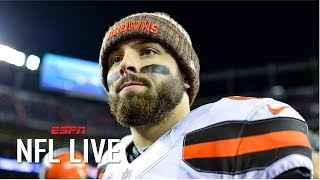 What are Baker Mayfield and the Browns' expectations for the 2019 season? | NFL Live