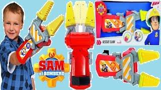 """Sam el bombero Juguetes """"Tijeras de recuperación"""" El Bombero Sam Juguetes en español Latino"""