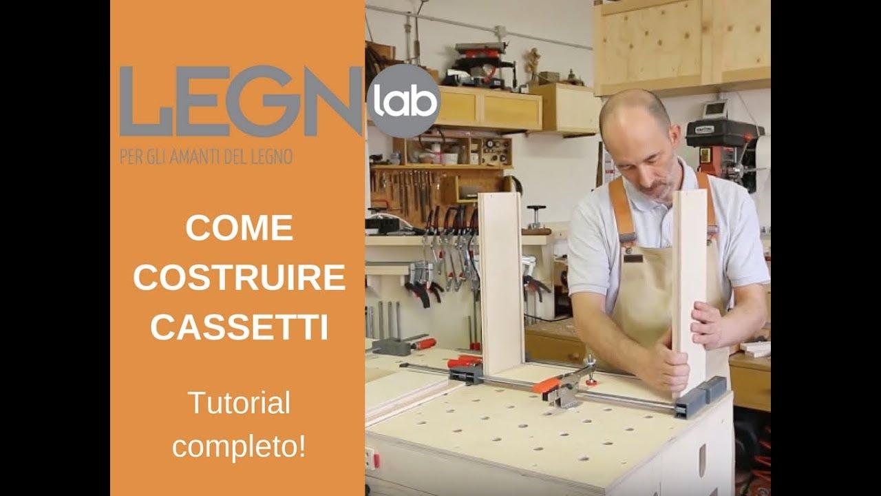Costruire Cassetto Legno.Costruzione Di Cassetti