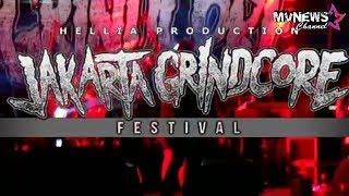 BABY FROG Live at JAKARTA GRINDCORE FESTIVAL 2018