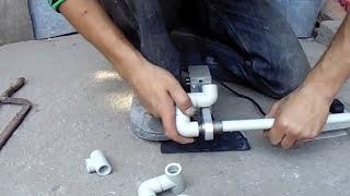 видео Пистолет для пайки пластика и технология пайки
