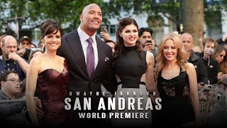 San Andreas - The World Record Premiere in London