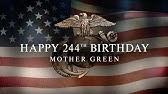 The 244th Marine Corps Birthday Tribute Youtube