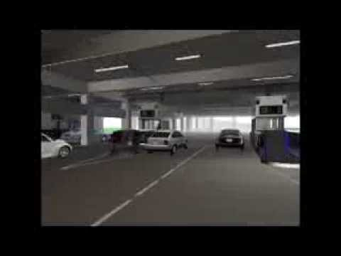 NBCU G-Lot Parking Structure Animation 1