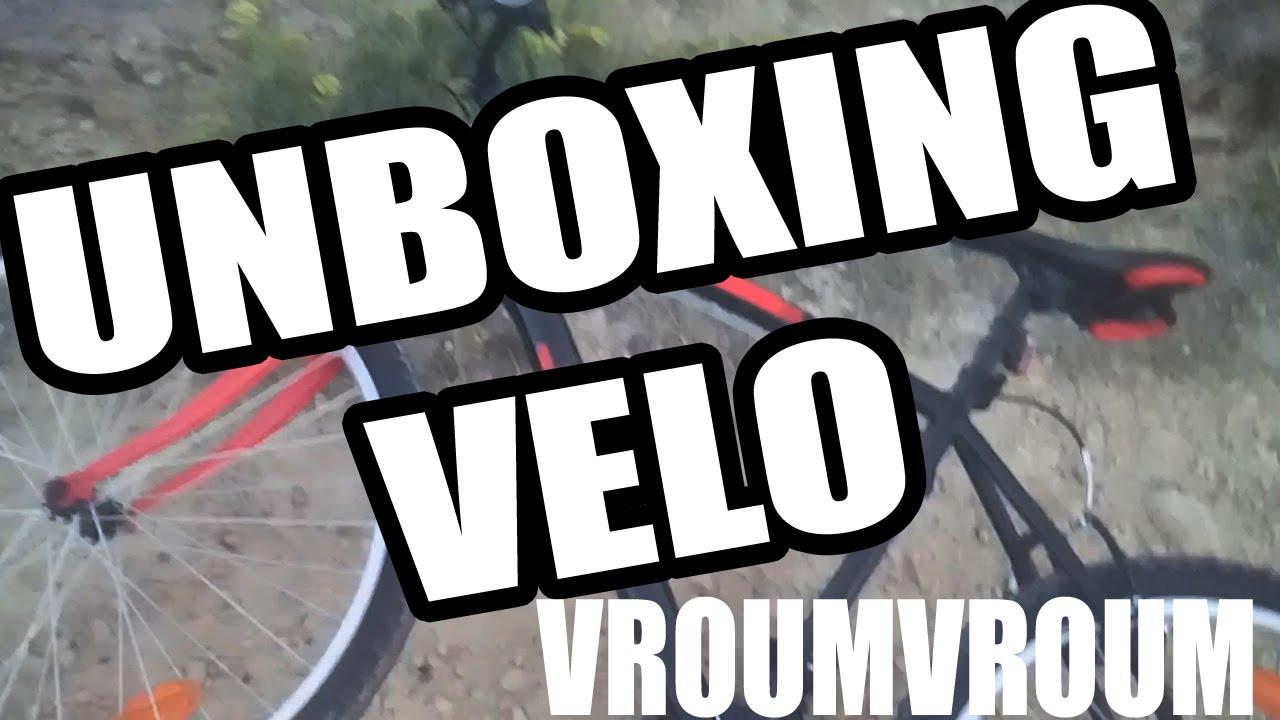 unboxing vtt mountain 50 carrefour