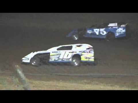 Ark La Tex Speedway modified heat race 1 9/26-15