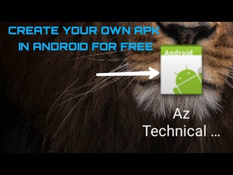 HOW TO CREATE YOUR OWN APK IN ANDROID FOR FREE IN (HINDI/URDU).