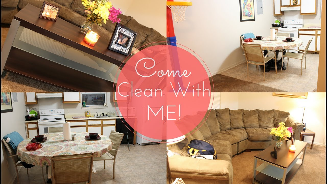 Come Clean With Me | My Small Apartment - YouTube