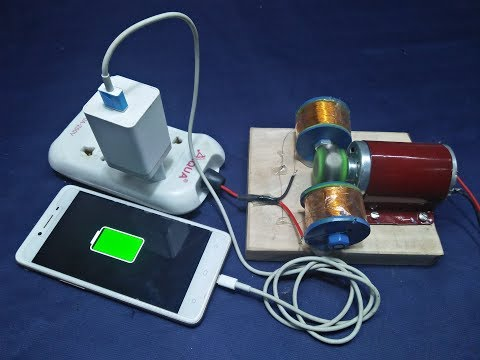 Free Energy Mobile Charger Generator Make it Home New Technology