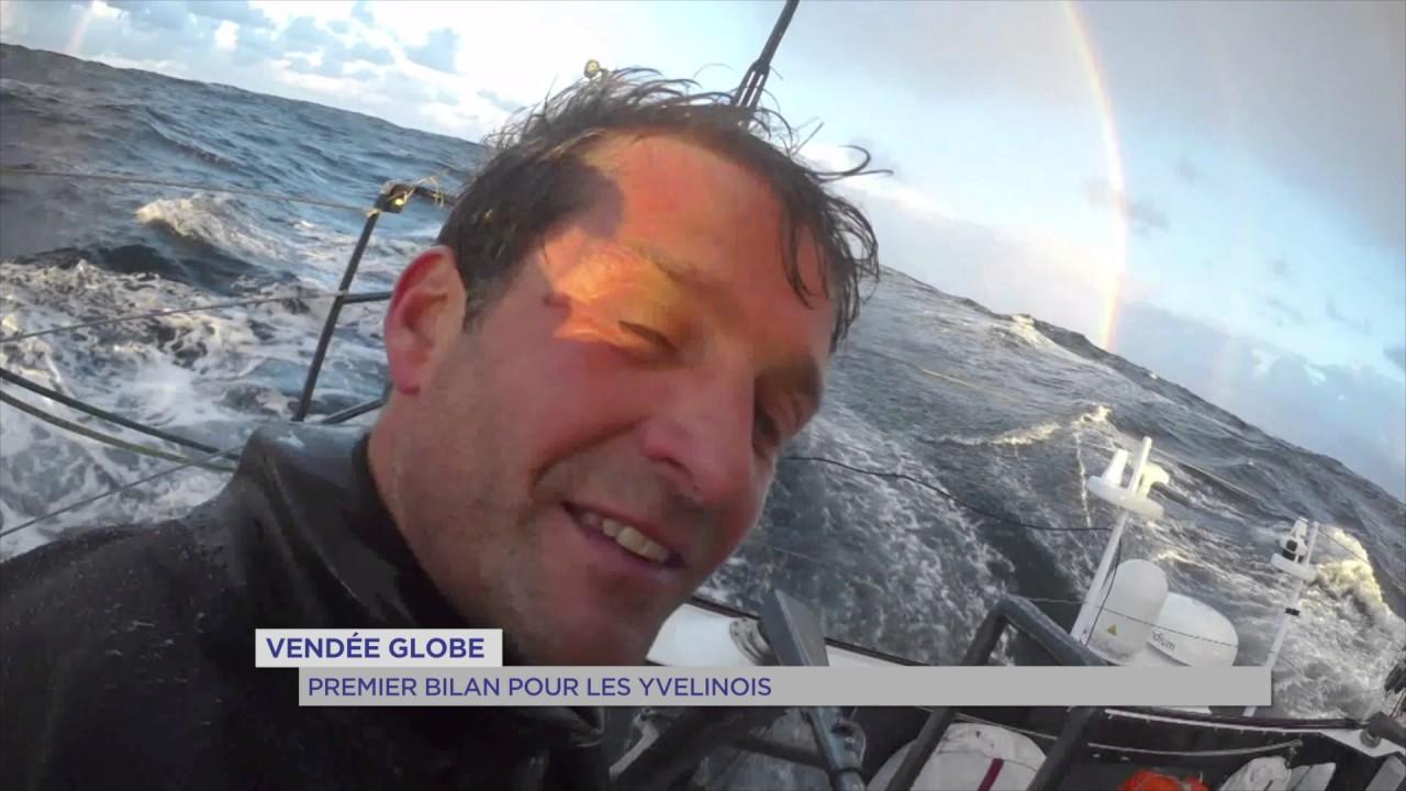 Vendée Globe : premier bilan pour les Yvelinois