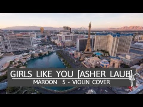 Asher Laub - Girls Like You / Maroon 5 Violin Cover [Video Review]
