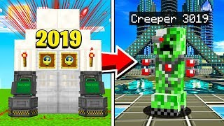 I used a TIME MACHINE in Minecraft!