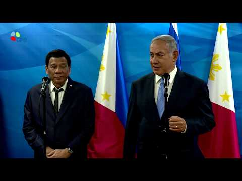 PM Netanyahu meets with Philippines President Duterte