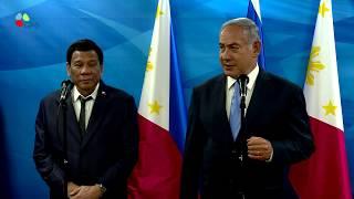 PM Netanyahu meets with Philippines President Duterte