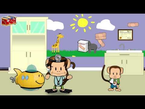 Monkey Preschool: When I Grow Up