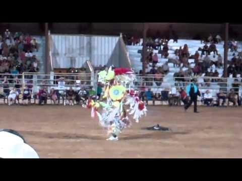 Jeremy Keahbone Dance Off @ American Indian Expo 2012