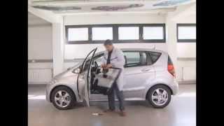 Як зняти карту двері на Mercedes-Benz A-klass