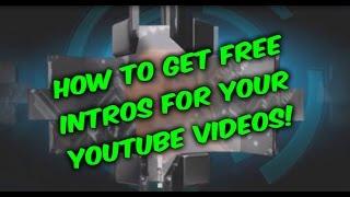 Youtube intro, kolay yolu oluşturma