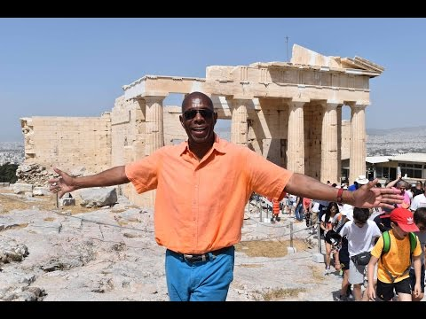 GlobeTrotter Jon Haggins  TV in Greece Pt1