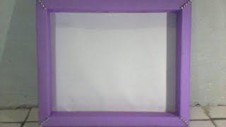 DIY Membuat Frame Scrapbook