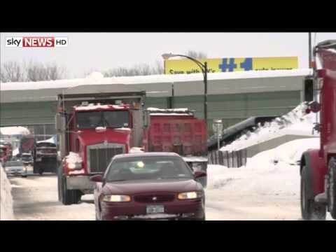 Seven People Killed In US Snowstorm