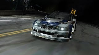 Need for Speed Carbon - Final races with BMW M3 GTR