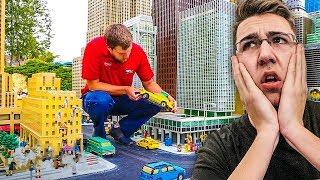 NAJVEĆI GRAD NAPRAVLJEN OD LEGO KOCKICA!!