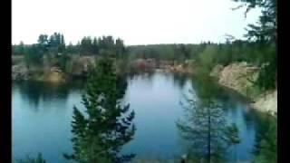Голубые озера(Гоняли мы как то на Голубые озера... отдохнуть, да со скал попрыгать..., 2010-08-04T00:32:12.000Z)
