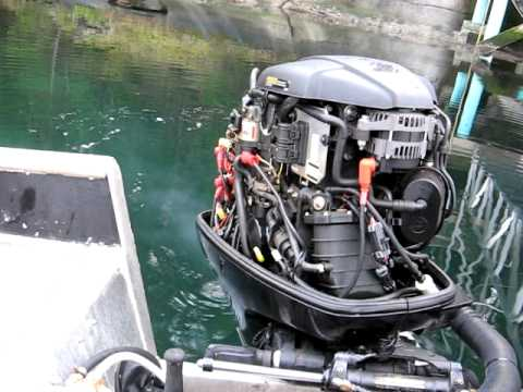 Mercury Outboard Four Stroke 90 Hp Efi Hard Starting Youtube