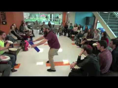 Rockland Community College Interactive Drumming and Tone Bar Program