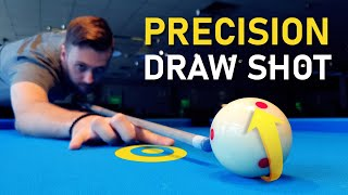 Pool Lesson | H๐w To Draw The Cue Ball Exactly To A Point