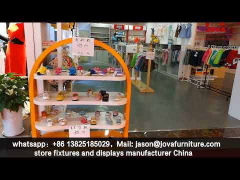 baby shop design sample, children and kids clothing store furniture