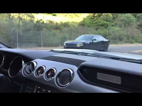 Dodge Charger RT Vs Ford Mustang 5.0