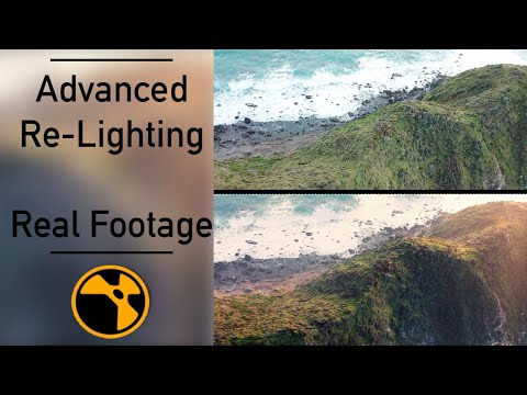 Re-lighting Real Footage in Nuke [Advanced]