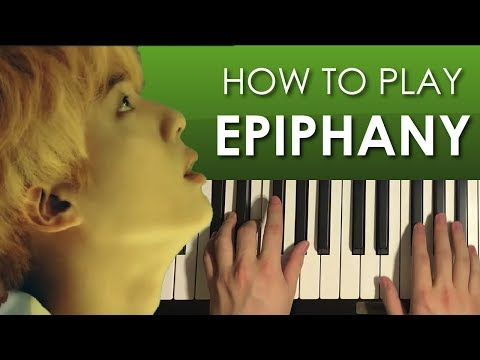How To Play -BTS (방탄소년단) - Epiphany (PIANO TUTORIAL LESSON)