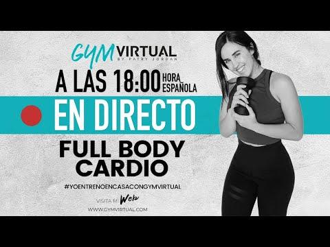 DIRECTO - RUTINA FULL BODY CARDIO - ADELGAZAR EN CASA