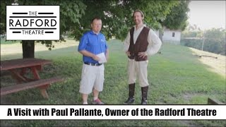 Talking with Paul Pallante, Owner of the Radford Theatre