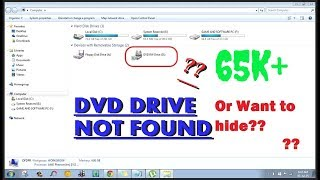 cd dvd drive not detected windows 7 free    how to fix cd rom issues