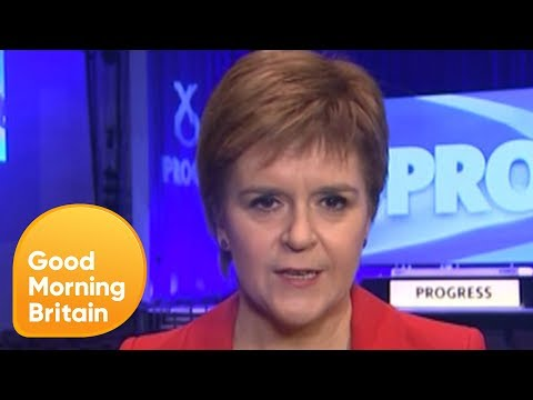 Nicola Sturgeon Is Questioned by Piers and Susanna on Election Losses | Good Morning Britain