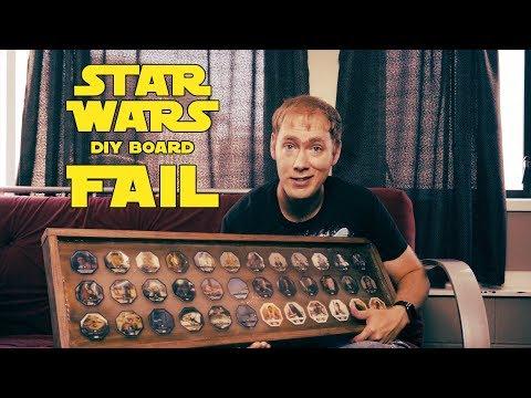 Star Wars DIY Board FAIL