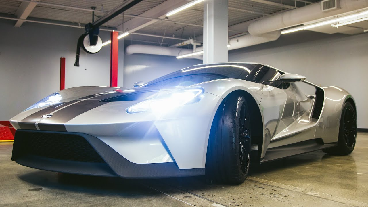 An Inside Look At Fords Newest Supercar The  Ford Gt