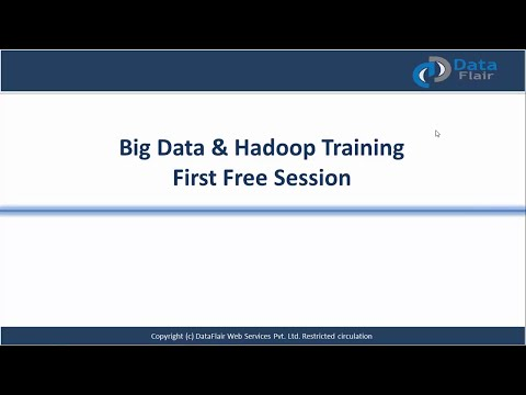 Big Data Hadoop Tutorial | Free Big Data Hadoop Training Video for Beginners