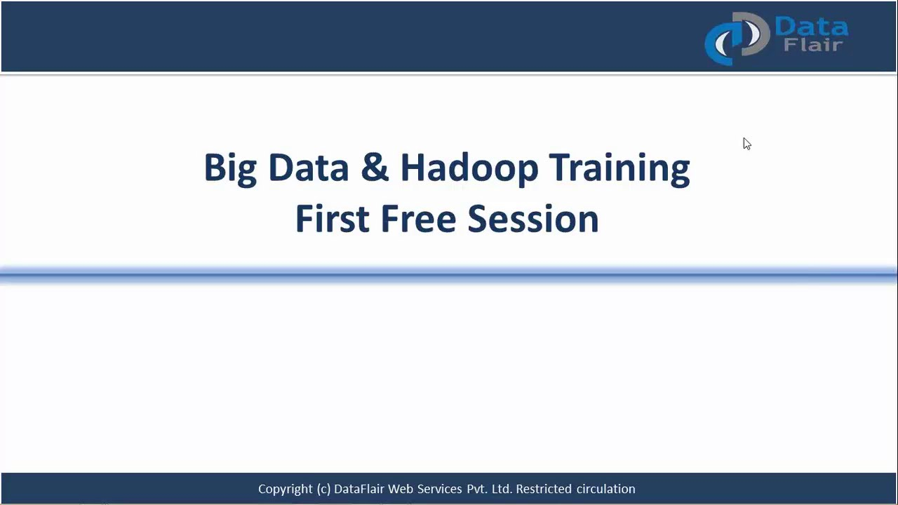 Big Data Hadoop Tutorial | Free Big Data Hadoop Training ...