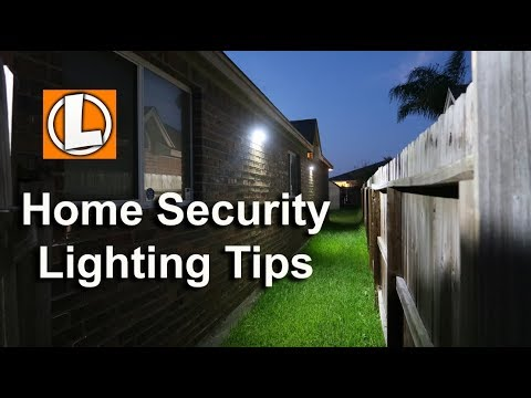 Home Security Lighting Tips Affordable Outdoor Led Options