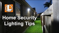 Home Security Lighting Tips - Affordable Outdoor LED Lighting Options